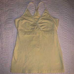 3/$50! Lululemon light yellow top
